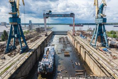 Николаевский судостроительный завод объявил себя банкротом