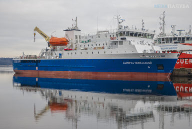 Паром «Адмирал Геннадий Невельской» проекта PV22 отправился на Сахалин