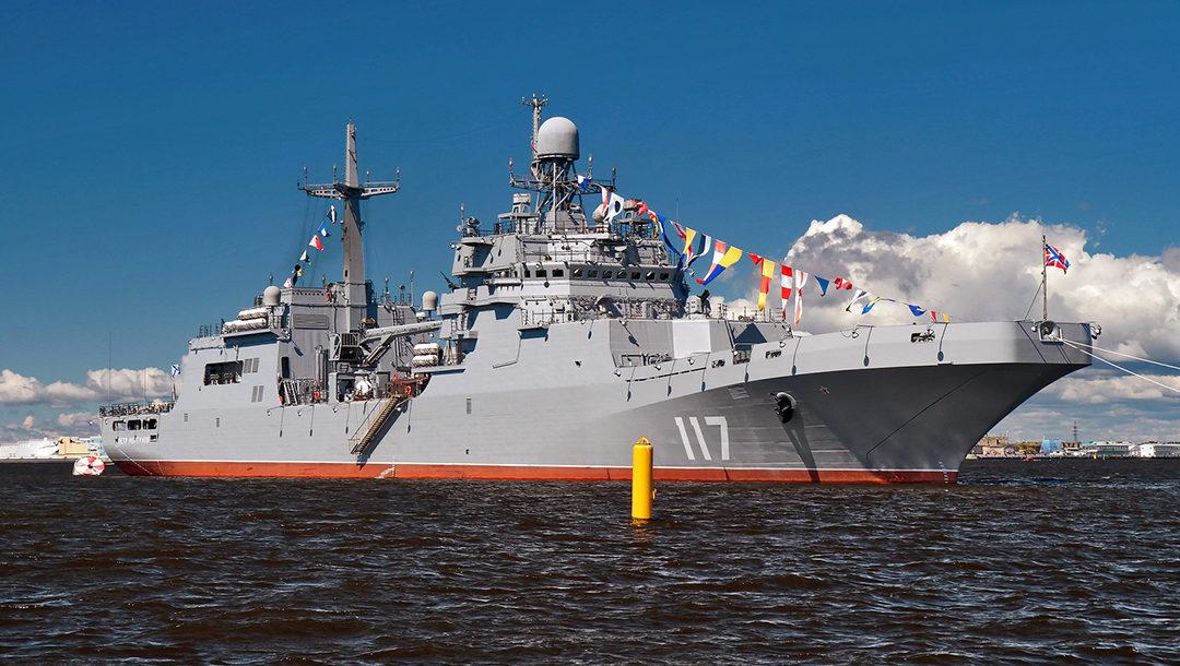 БДК «Петр Моргунов» будет передан флоту сегодня