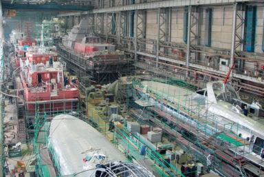 ОСК потеряла контроль над заводом «Вымпел»