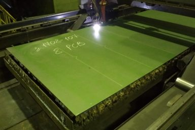 Корабелы «Северной верфи» начали резку металла для восьмого траулера проекта 170701