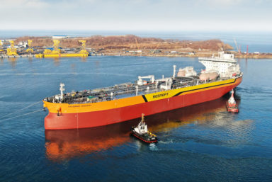 ГТЛК Middle East получила заказ на поставку двух танкеров класса Aframax LR2