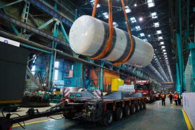 «Атоммаш» отгрузил в Бангладеш оборудование для первой АЭС