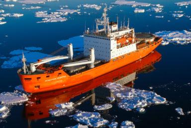 Научно-экспедиционное судно «Академик Федоров» отправилось в антарктический рейс