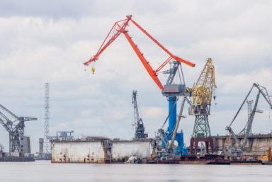 «СММ» поставил «Центру Судоремонта «Звездочка» второй портальный монтажный кран «CММ-3000»