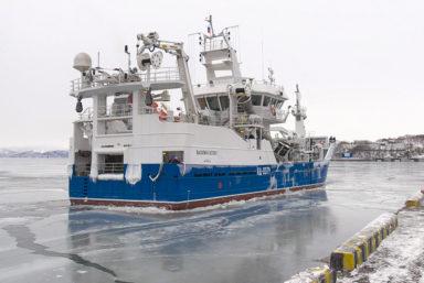 Траулер-сейнер «Василий Каплюк» прибыл на Камчатку