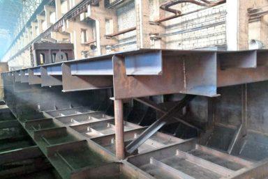 На Красноярском машиностроительном заводе заложили паром проекта ТП273.20