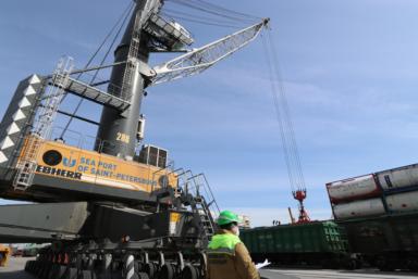 Морской порт Санкт-Петербург инвестировал в развитие более 1 млрд руб.