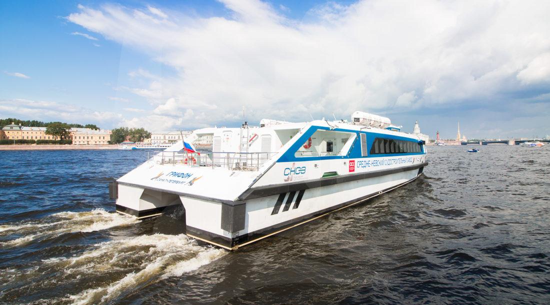 «Водоходъ» построит катамаран «Грифон» и запустит маршрут из Новороссийска в Сочи