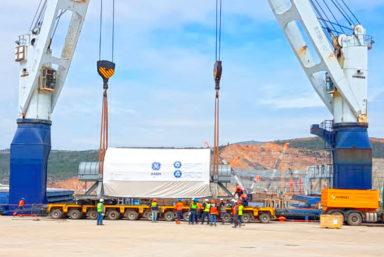 Транспортный оператор «Рускон» доставил груз для турецкой АЭС «Аккую»