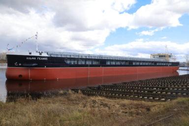 «Красное Сормово» отправило на ходовые испытания судно «Альфа Гелиос» проекта RSD59