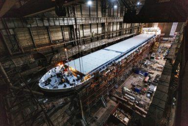 14 апреля корабелы завода «Красное Сормово» спустят на воду сухогруз «Николай Леонов»