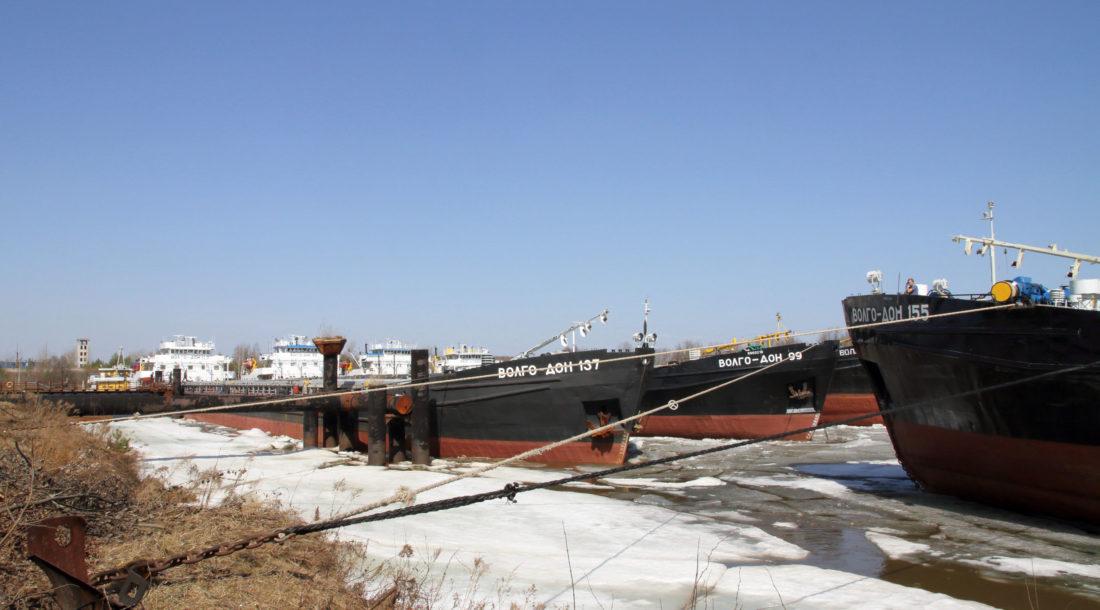 Волжское пароходство завершает межнавигационный ремонт
