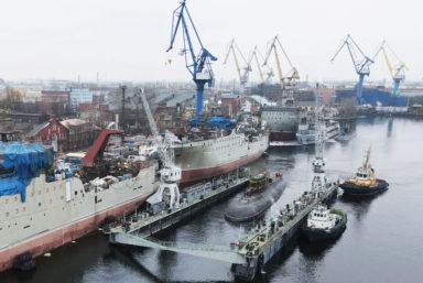 Адмиралтейские верфи начнут швартовные испытания подводной лодки «Магадан»