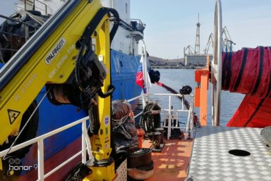 Спасатели Ванинского филиала Морспасслужбы ликвидировали разлив мазута