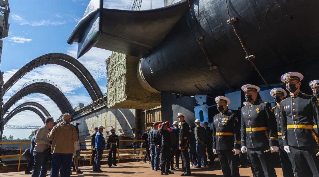 Осенью 2021 года «Севмаш» спустит на воду АПЛ «Хабаровск» проекта 09851
