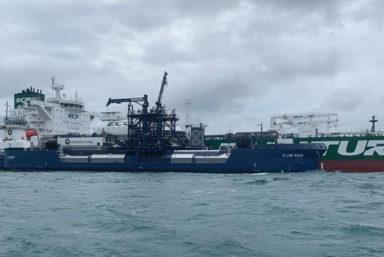 «Совкомфлот» и концерн Shell завершили 150-ю СПГ-бункеровку танкеров зеленой серии