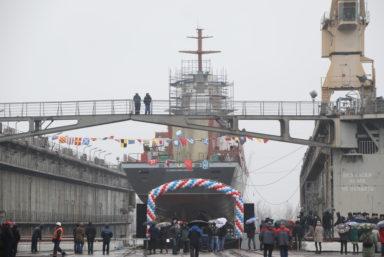 Корвет «Ретивый» проекта 20380 готовится к вселению экипажа