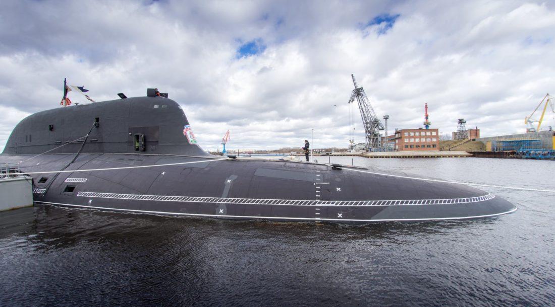 ВМФ принял в состав атомный подводный крейсер «Казань» проекта «Ясень-М»