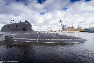 «Севмаш» спустит на воду подводный ракетный крейсер «Красноярск» проекта 885М