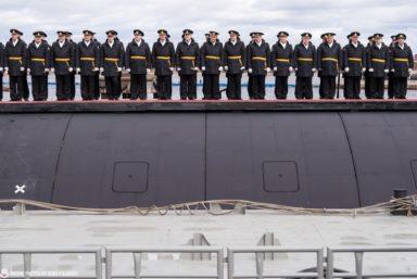 На «Севмаше» спустили на воду подводный ракетный крейсер «Красноярск» проекта 885М