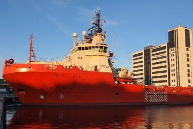 Морспасслужба приобрела многоцелевой буксир «Сейвал» проекта UT-722