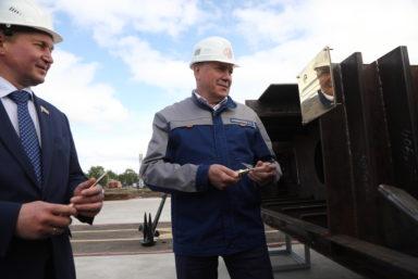 Череповецкий судостроительный завод начал работу