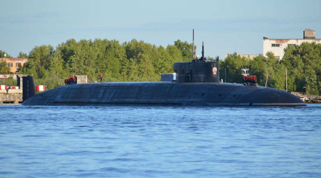 Атомная подлодка «Князь Олег» проекта 955А «Борей-А» отправилась на заводские ходовые испытания