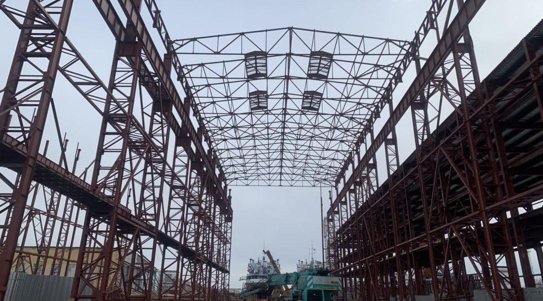 В строительстве Жатайской судоверфи заняты более 90 человек