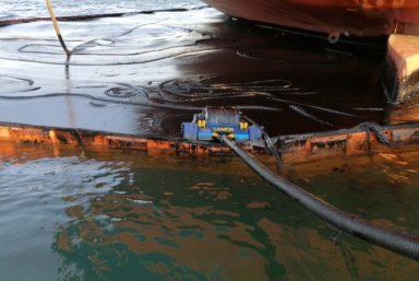 На акватории терминала Бошняково в Татарском проливе завершилась операция ЛАРН