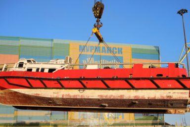 Мурманский морской торговый порт обработал «неформатный» для себя груз