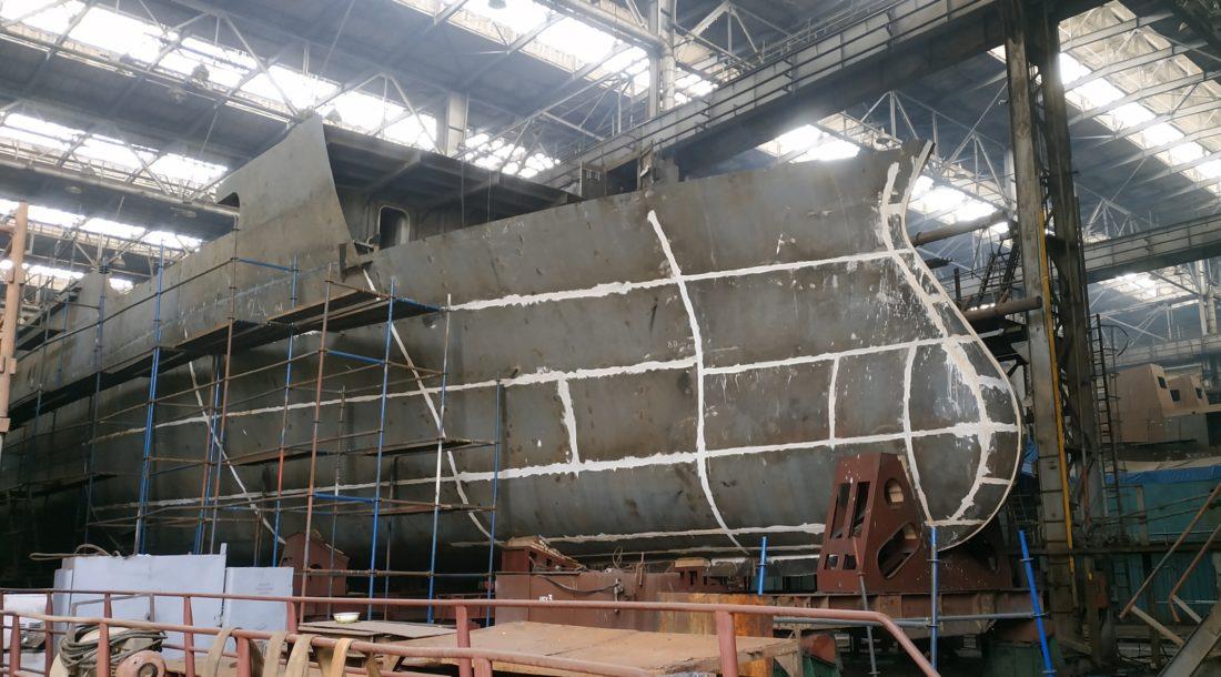 Хабаровский СЗ продолжает формировать корпус краболова проекта 03141