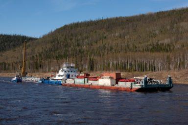 Флот Енисейского речного пароходства готовится к Северному завозу