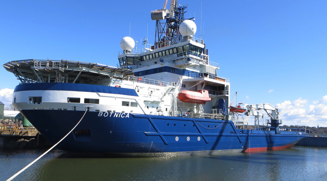 Turku Repair Yard завершила ремонт ледокола Botnica
