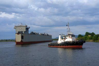 Плавдок «Зея» прибыл на Амурский СЗ для вывода корвета «Резкий» проекта 20380