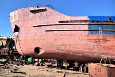Архангельская РЭБ флота отремонтировала два сухогруза Северного речного пароходства