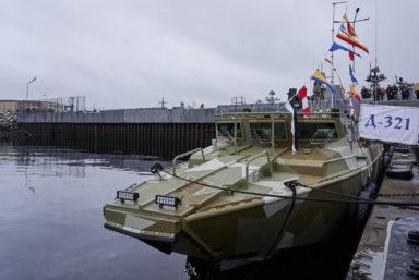 Северный флот получил транспортно-десантный катер «Д-321» проекта 02510