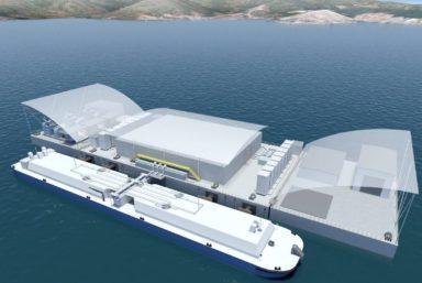 РС принципиально одобрил проект плавучей СПГ-электростанции