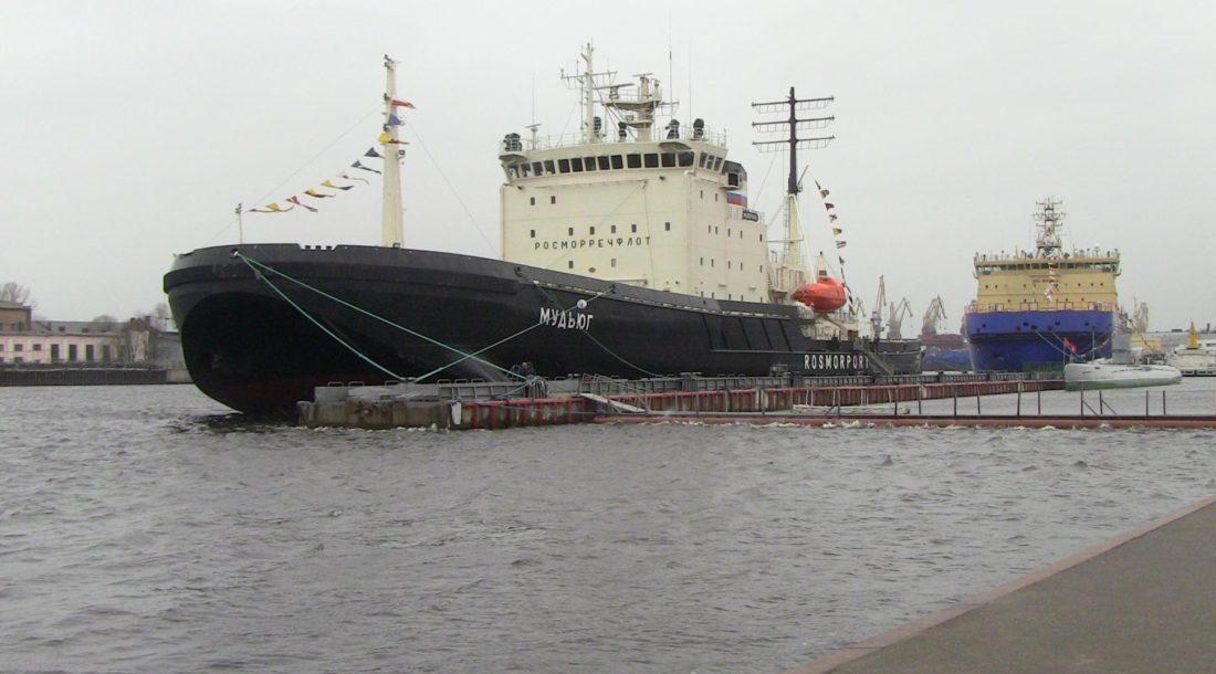 «Росморпорт» проводит конкурс на ремонт ледокола «Мудьюг»