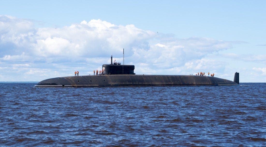 Атомная подлодка «Князь Олег» проекта 955А «Борей-А» вернулась с заводских ходовых испытаний