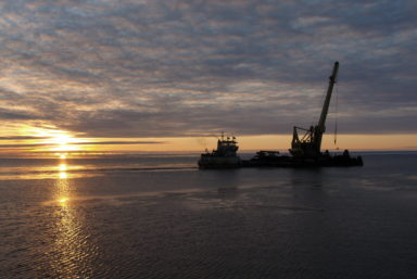 Флот ЛОРПа продолжает активную работу в Арктике