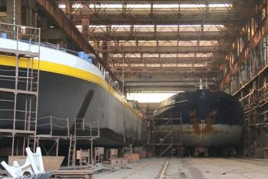 Верфи Smart Maritime Group в первом полугодии отремонтировали 37 судов