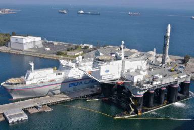 Содержание комплекса «Морской старт» на стоянке обходится в более $1 млн ежемесячно
