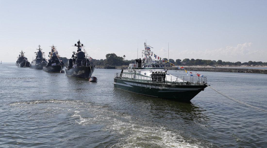 В акватории Калининградского морского канала установили рейдовое оборудование