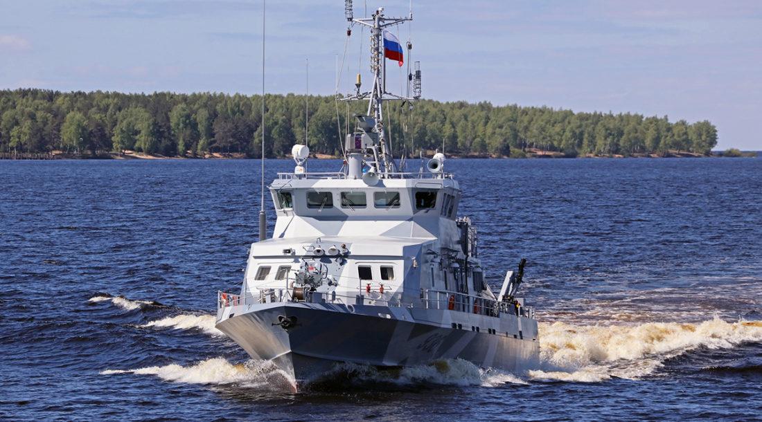 Зеленодольский завод имени А.М. Горького спустит на воду два катера проекта 21980 «Грачонок»
