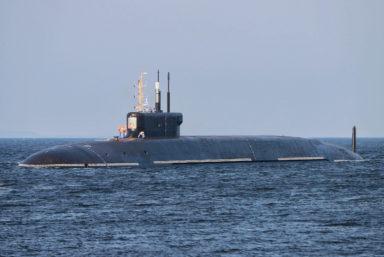Подводный крейсер стратегического назначения «Князь Владимир» встал на кронштадтский рейд