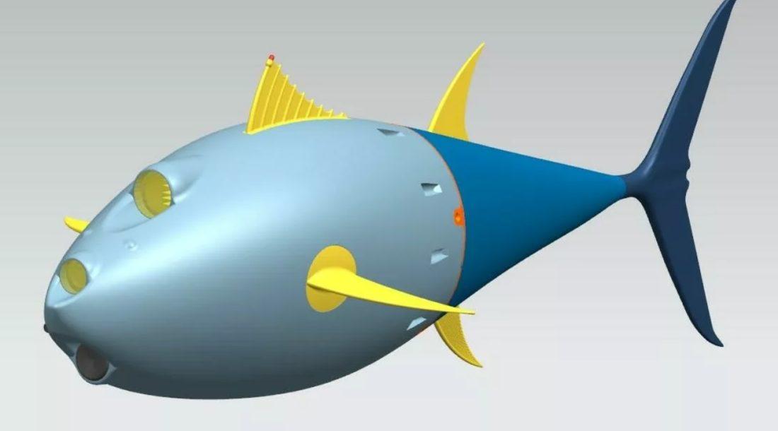 Балтийский федеральный университет разработал первого биоморфного подводного робота в России