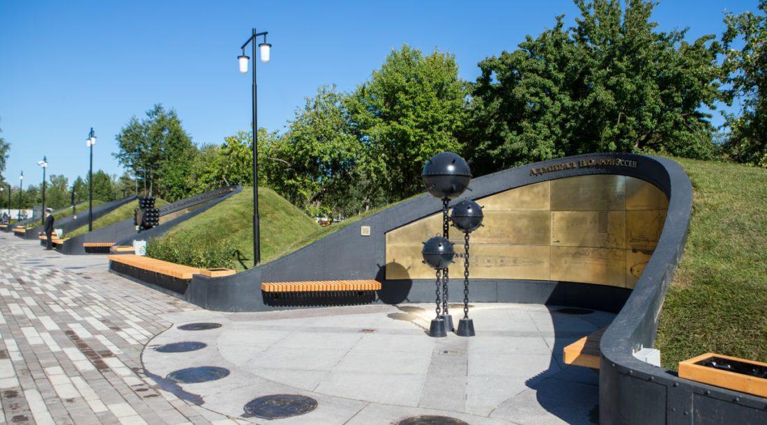 Вторая часть парка «Остров фортов» в Кронштадте откроется 25 июля