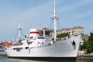 На НИС «Витязь» Музея Мирового океана начался ремонт