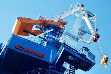 СММ поставит два портальных крана серии «Витязь» в порт Усть-Луга